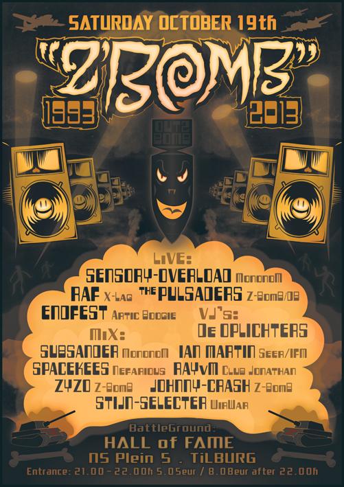 Z-Bomb Soundsystem Autolaaier E.P.